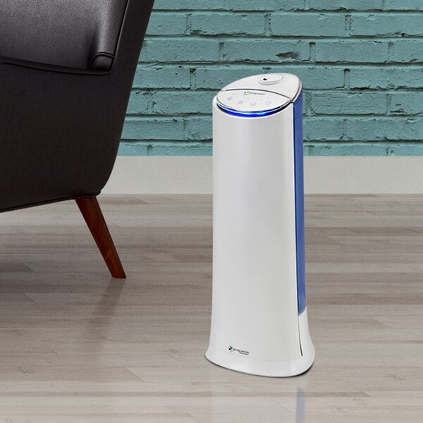 PureGuardian 1.5 Gal. Cool Mist Ultrasonic Tower Humidifier by Guardian Technologies