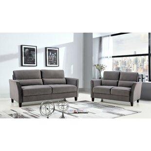 Mcilwain 2 Piece Living Room Set by Red Barrel Studio®