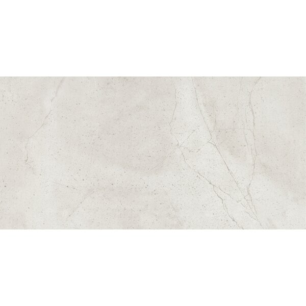 Quest Matte 12 x 24 Porcelain Field Tile in Silver by Emser Tile