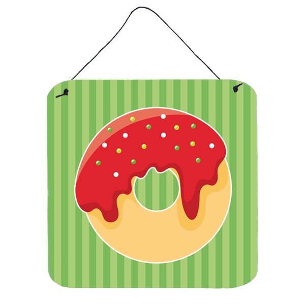 Christmas Donut Metal Wall Décor by The Holiday Aisle