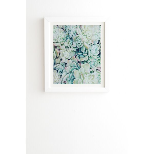 My Desert Blue by Chelsea Victoria Framed Photographic Print by East Urban Home