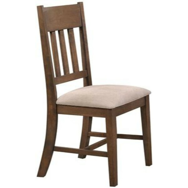 Jaqueline Solid Wood Dining Chair (Set Of 2) By Millwood Pines