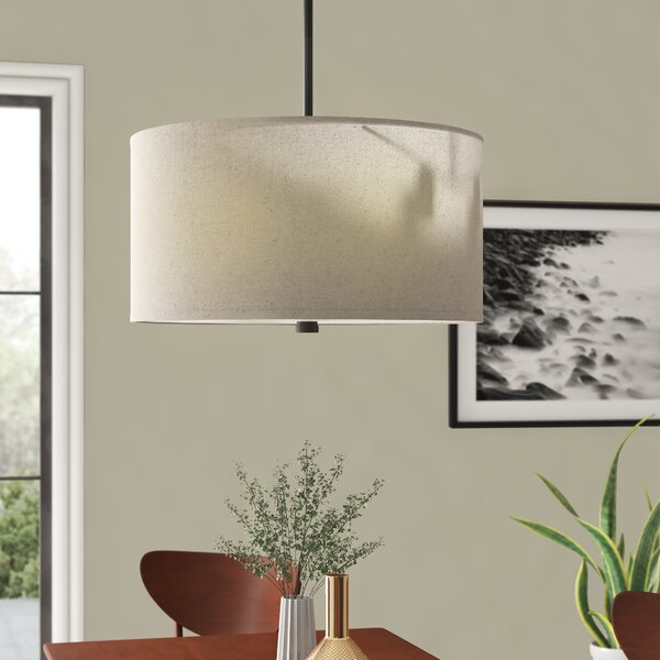 Jon 4 - Light Unique / Statement Drum Chandelier by Langley Street Langley Street™