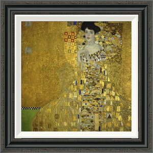 'Portrait Of Adele Bloch Bauer I 1907' by Gustav Klimt Framed Grapic Art by Global Gallery