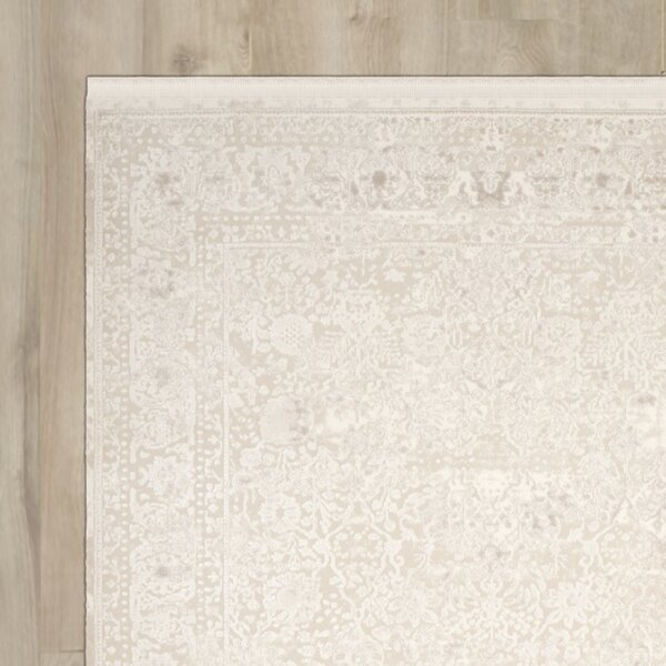 Elodie Creme Area Rug by One Allium Way