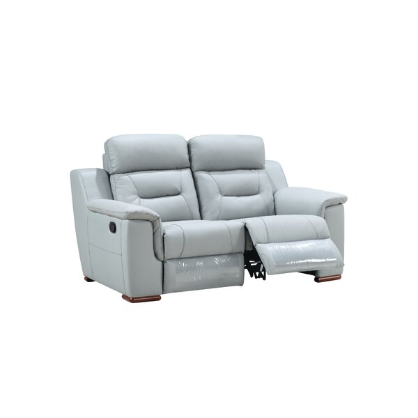 Find Out The New Kreger Air Reclining Loveseat by Latitude Run by Latitude Run