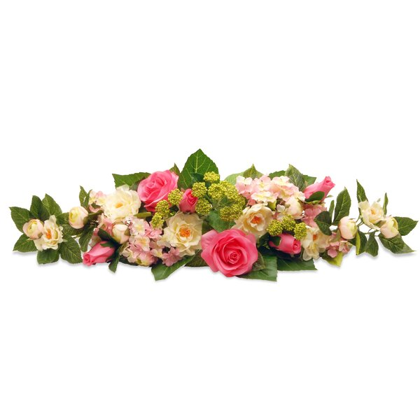 Rose and Hydrangea Swag by Ophelia & Co.