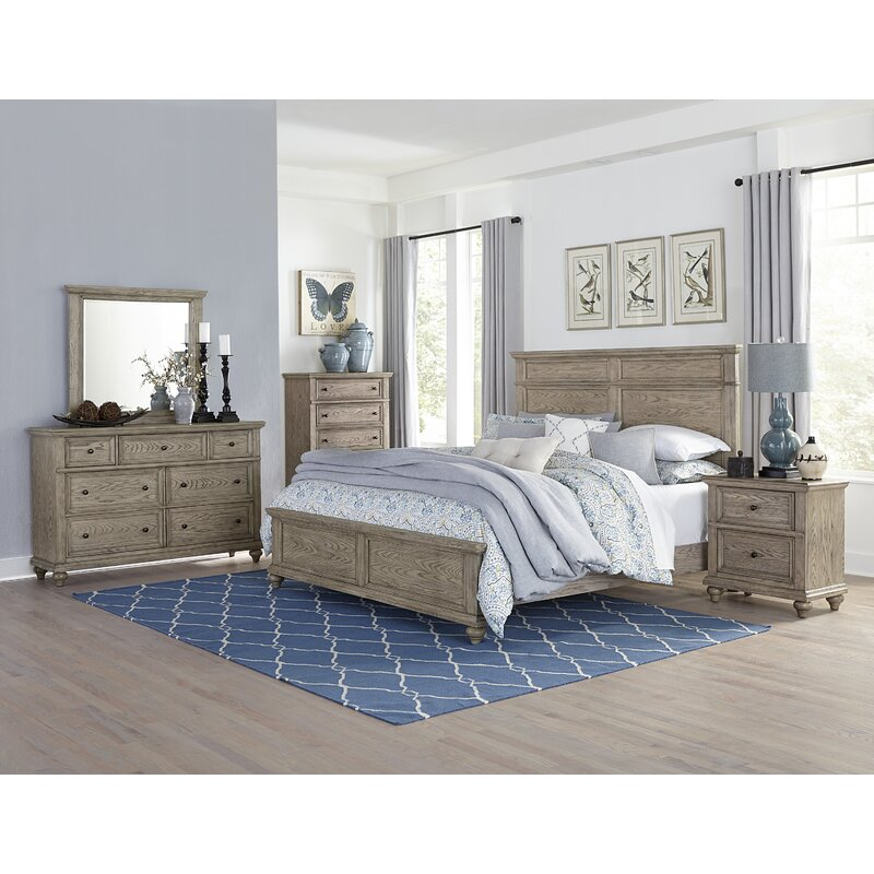 Greyleigh Lorsworth Queen Standard Solid Wood Configurable Bedroom