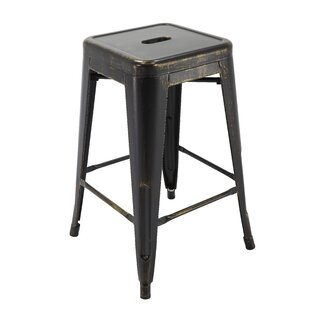 Hoekstra 24 Bar Stool (Set of 4) By Williston Forge