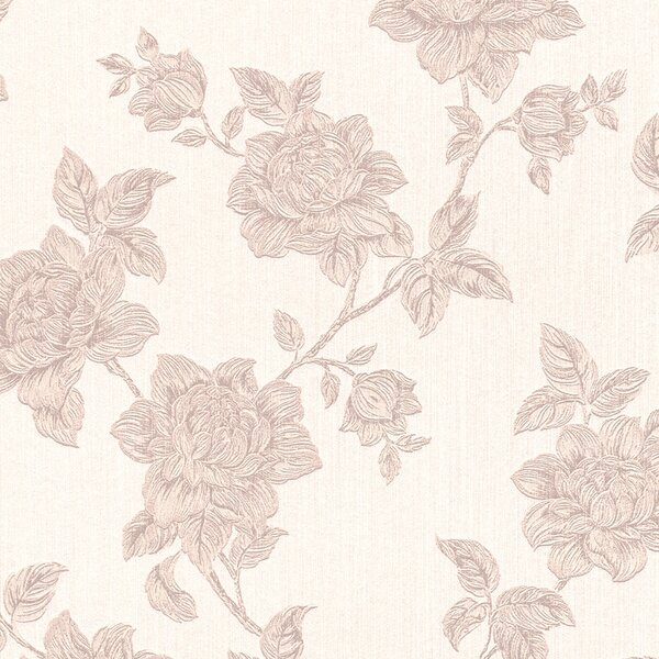 32.97 x 20.8 Floral and botanical Textile Wallpaper by Walls Republic