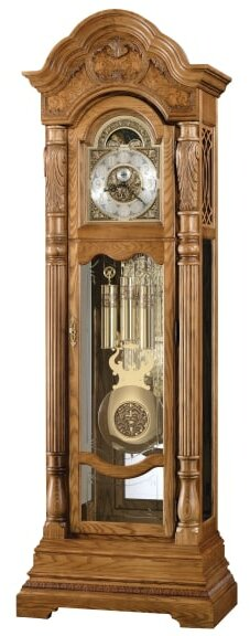 Nicolette Ambassador Co 90.25 Grandfather Clock by Howard Miller®