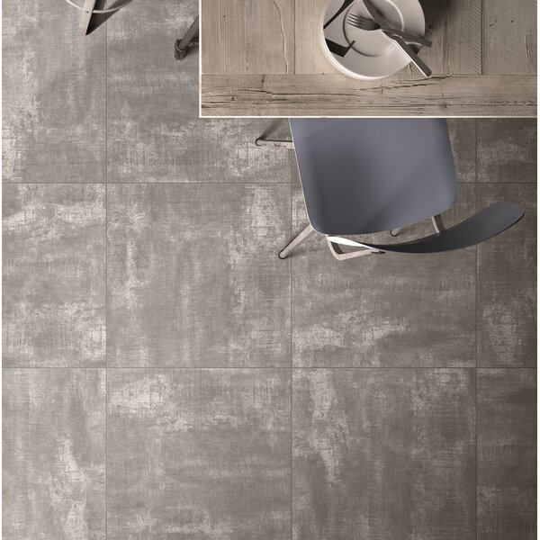 Concrete Glazed Porcelain Tile 24 x 24