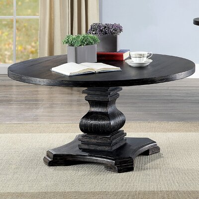 Pedestal Round Coffee Tables You Ll Love In 2019 Wayfair