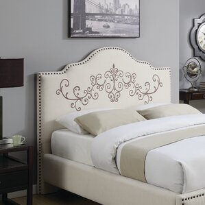 Ely Upholstered Panel Headboard by One Allium Way