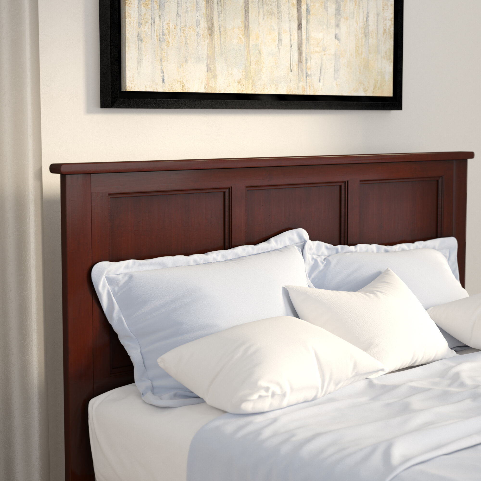 Andover Mills Marjorie Panel Headboard & Reviews | Wayfair