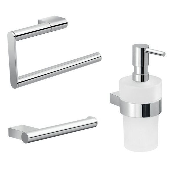 Canarie 3 Piece Bathroom Hardware Set by Gedy by Nameeks