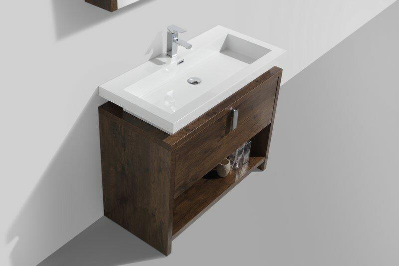 kube bath levi 39 5 single modern bathroom vanity set