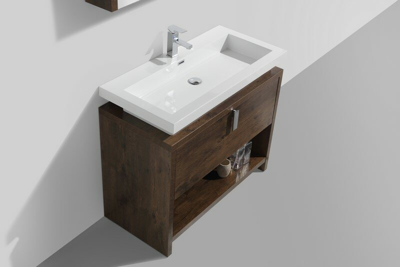Kube bath levi 39 5 single modern bathroom vanity set for Levi 29 5 single modern bathroom vanity set