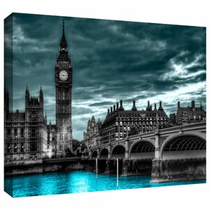 'London' Photographic Print on Wrapped Canvas by Zipcode Design