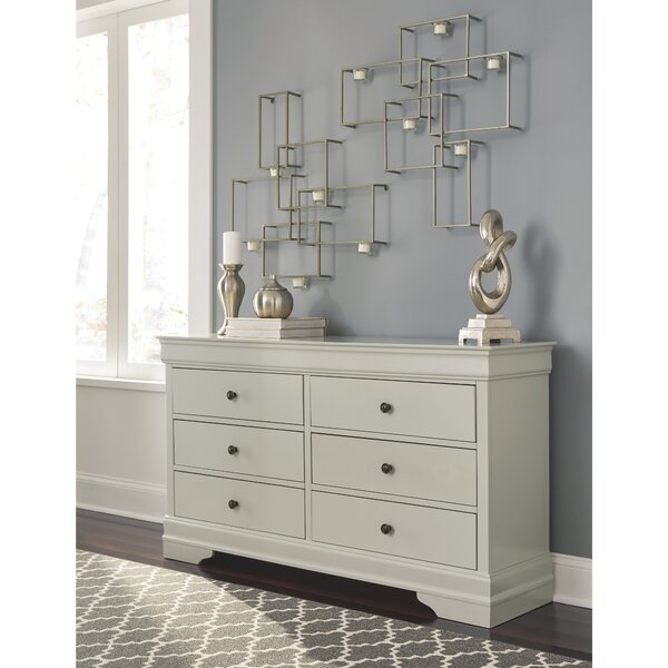 Linehan 6 Drawer Dresser by Charlton Home