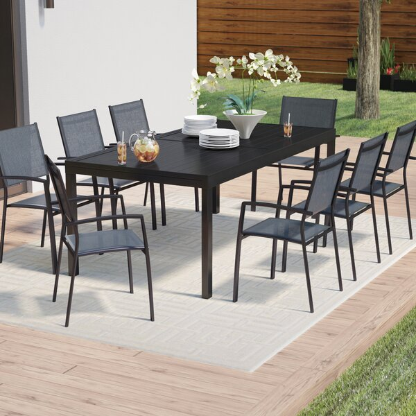 Rayleigh 9 Piece Dining Set by Sol 72 Outdoor