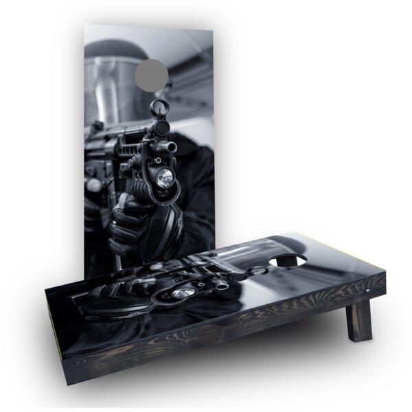 SWAT Team Member Cornhole Boards (Set of 2) by Custom Cornhole Boards