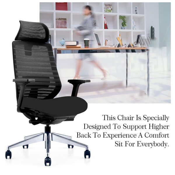 Klahn Executive Multi Function Ergonomic Mesh Office Chair by Latitude Run