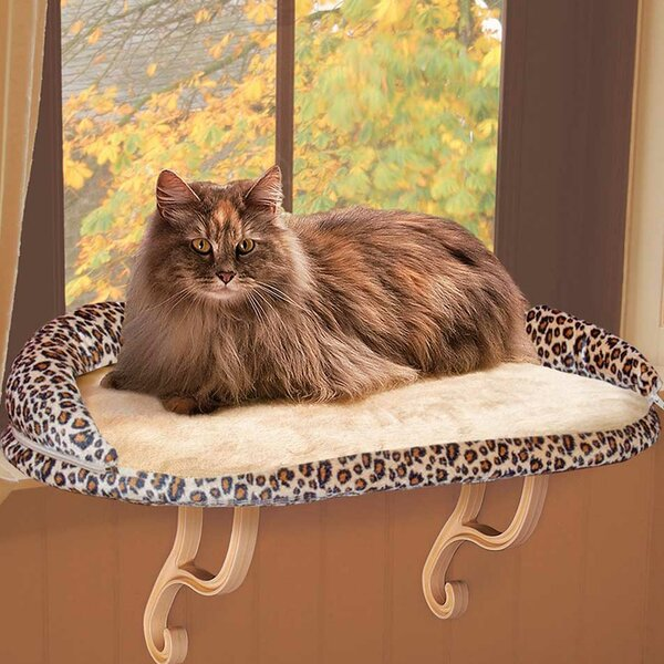 Deluxe Kitty Sill with Bolster by K&H Manufacturing