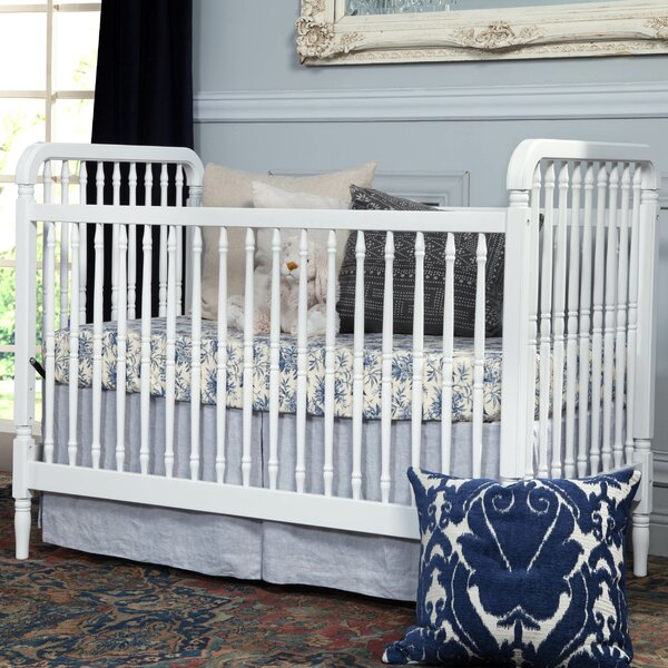 Liberty 3-in-1 Convertible Crib by Million Dollar