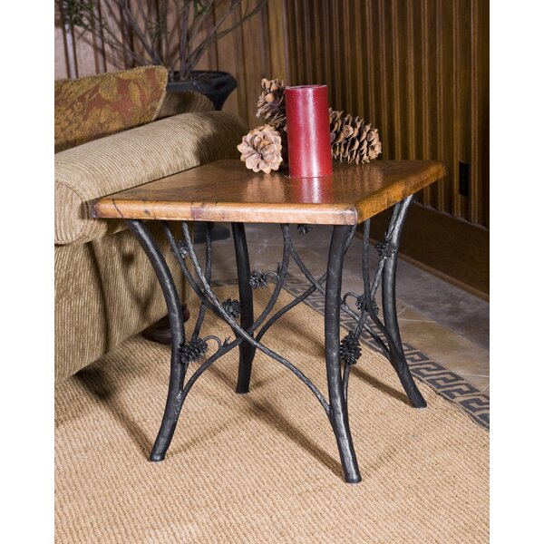 Orrie Piney Woods End Table by Loon Peak