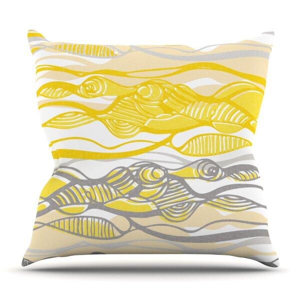 Kalahari by Gill Eggleston Outdoor Throw Pillow by East Urban Home