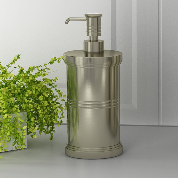 Dual Ridge Soap & Lotion Dispenser by NU Steel