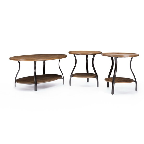 Kieron 3 Piece Table Set by 17 Stories