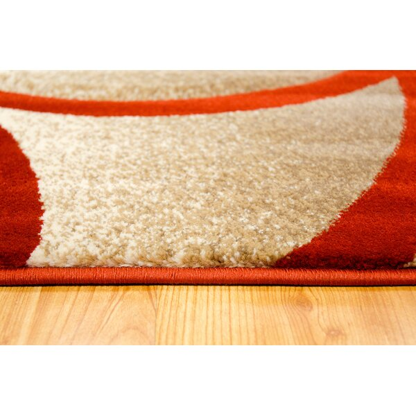 Rust Area Rug by Brady Home