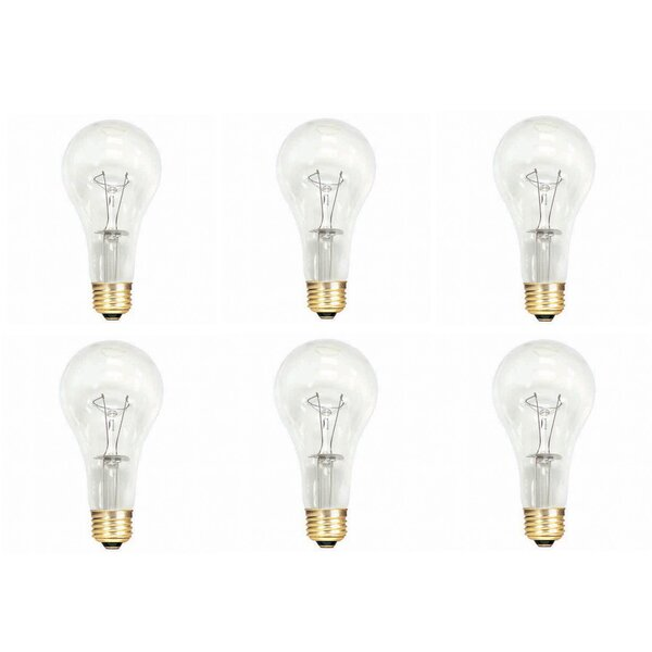 150W E26 Dimmable Incandescent Light Bulb (Set of 12) by Bulbrite Industries