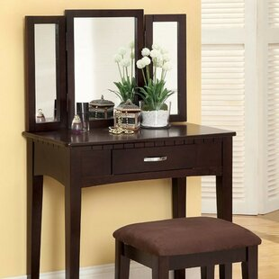 Kommini Simply Awesome Vanity Set with Mirror by Red Barrel Studio