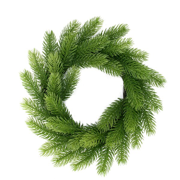 Two-Tone Mini Frasier Fir Artificial Christmas Wreath by Northlight Seasonal
