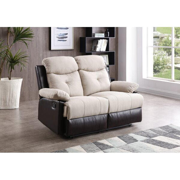 Best Deal Hackleburg Reclining Loveseat by Latitude Run by Latitude Run