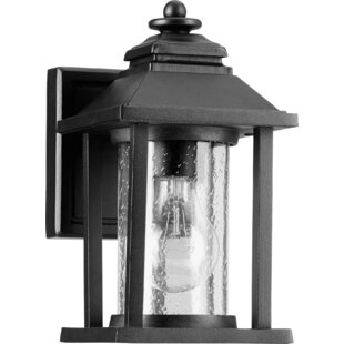 Deals Eastbourne 1-Light Outdoor Wall Lantern By Charlton Home