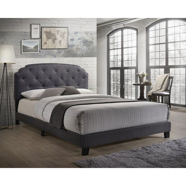 Mikesell Queen Upholstered Standard Bed by House of Hampton