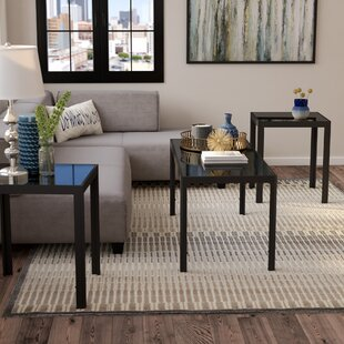Koah 3 Piece Coffee Table Set by Zipcode Design