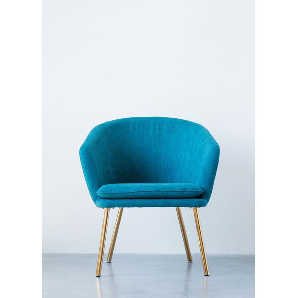 Clinkscales Upholstered Barrel Chair By Mercer41 New Design