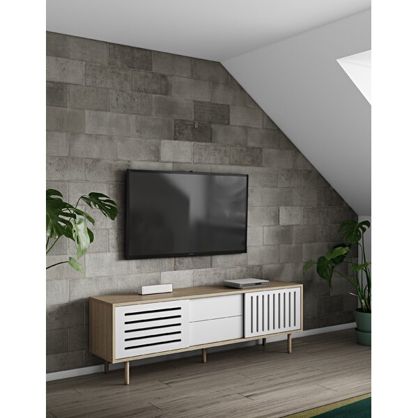 Garry Stripes Sideboard by Corrigan Studio