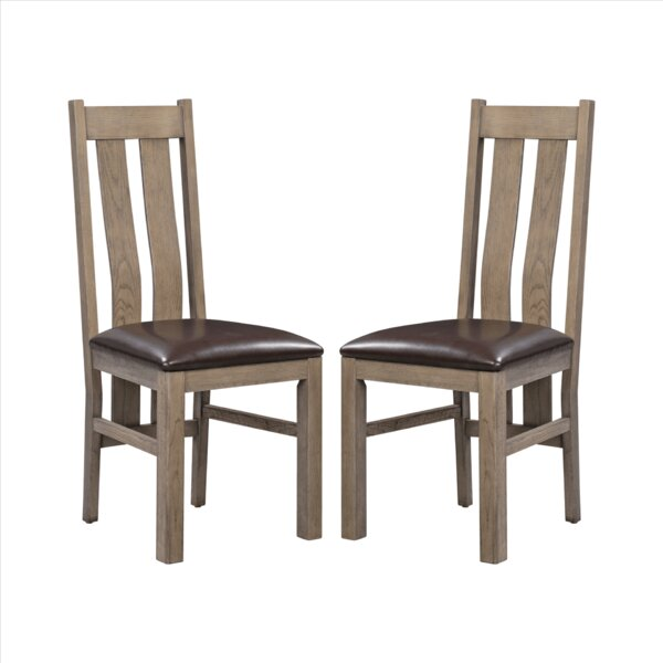 Venita Upholstered Dining Chair (Set of 2) by Loon Peak Loon Peak