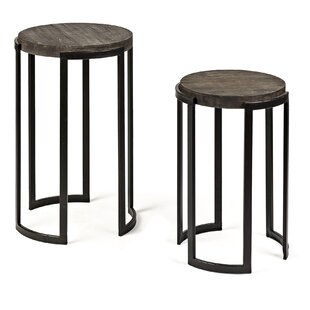 Brunette 2 Piece Nesting Tables (Set of 2)