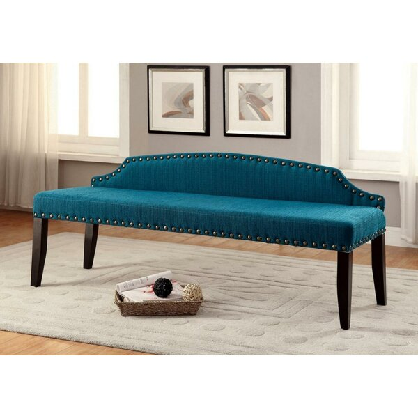 Kaylynn Upholstered Bench by Everly Quinn