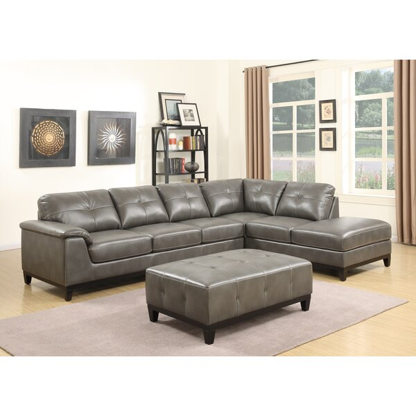 Van Reipen Sectional with Ottoman by Trent Austin Design