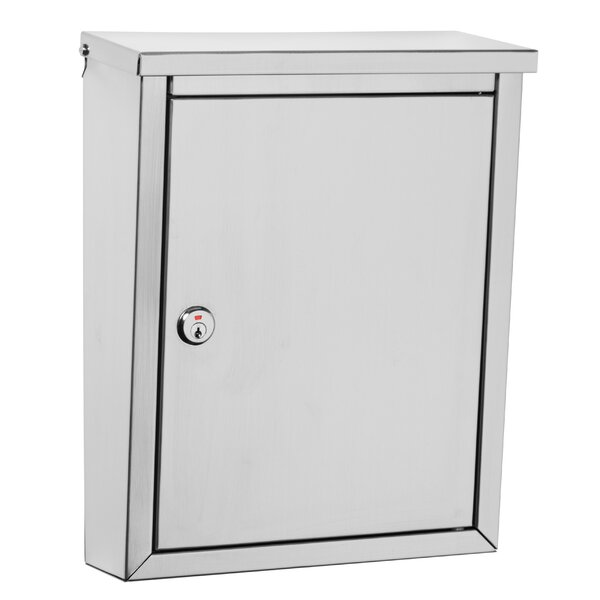 Regent Locking Wall Mounted Mailbox by Architectural Mailboxes