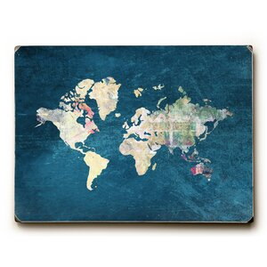 'Where to Next' Rectangle Graphic Art Print on Wood by Ebern Designs