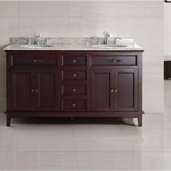 Dustin 60 Double Bathroom Vanity Set by Ove Decors
